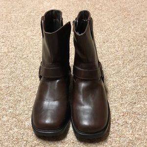 NEW Sonoma Brown Ankle Boots, Size 4